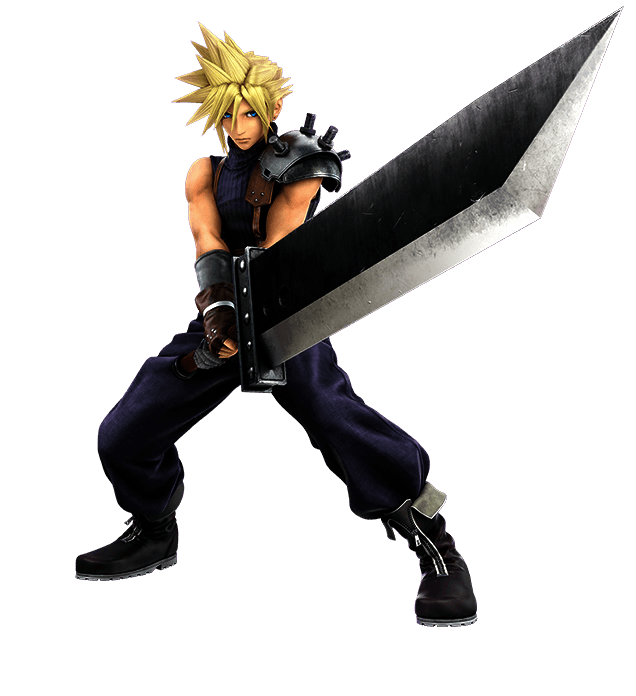 Cloud Super Smash Bros Ultimate