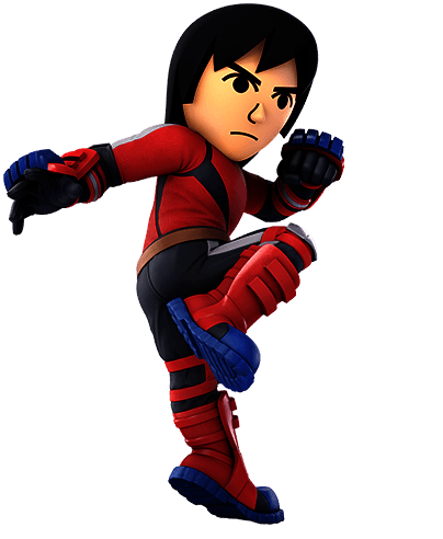 Mii Brawler Super Smash Bros Ultimate