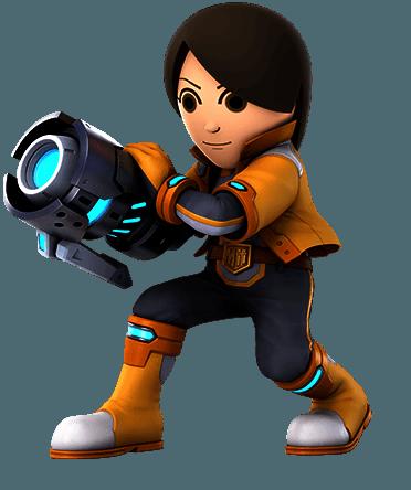 Mii Gunner Super Smash Bros Ultimate