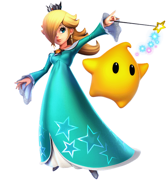 Rosalina & Luma Super Smash Bros Ultimate