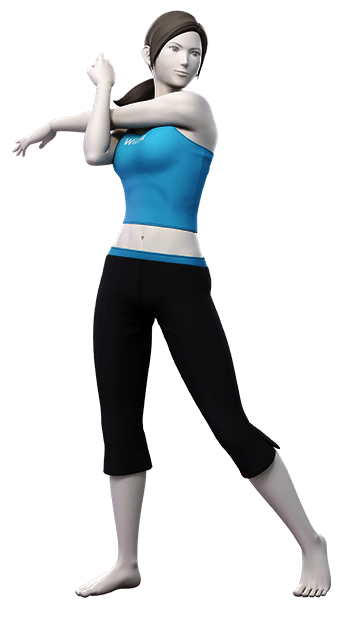 Wii Fit Trainer Super Smash Bros Ultimate