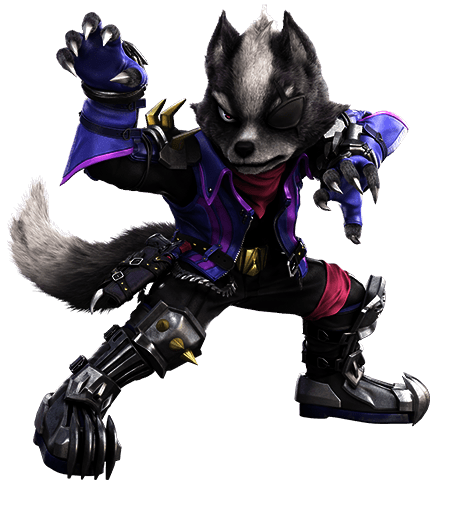 Wolf Super Smash Bros Ultimate
