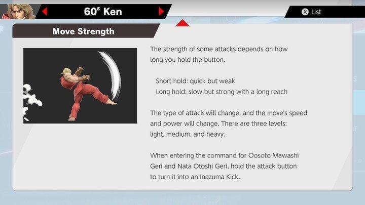 SSBU Ken Moves