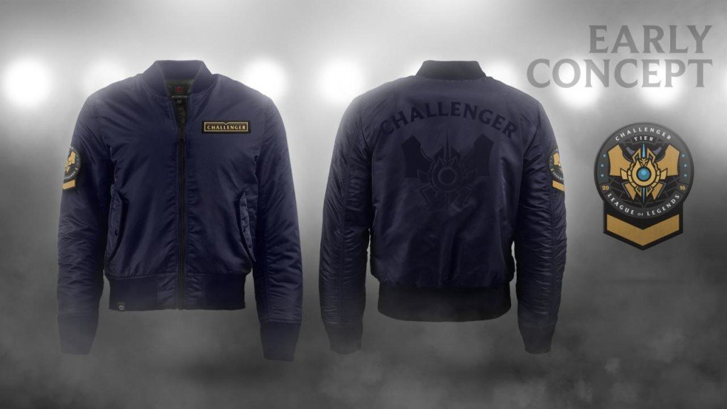 challenger-season rewards-Jacket