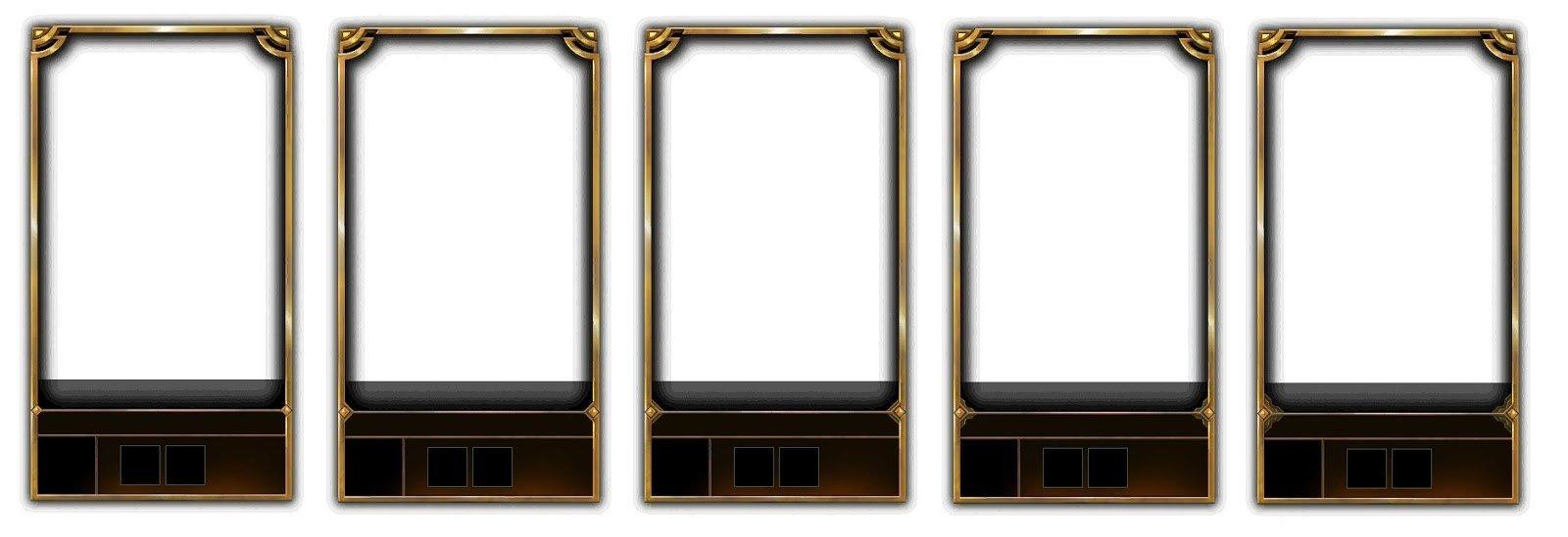 Gold Loading Screen Border