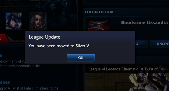 Lol Demotion Shield Expiring