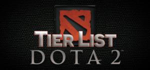 Dota 2 Tier List • Patch 6.86 • 2016