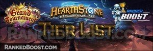 Hearthstone Arena Tier List – The Grand Tournament