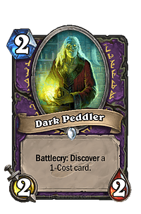 Dark Peddler Warlock Class