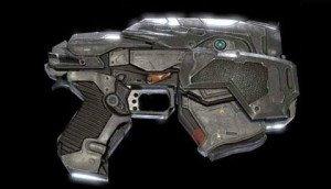 GoW4 Snub Pistol