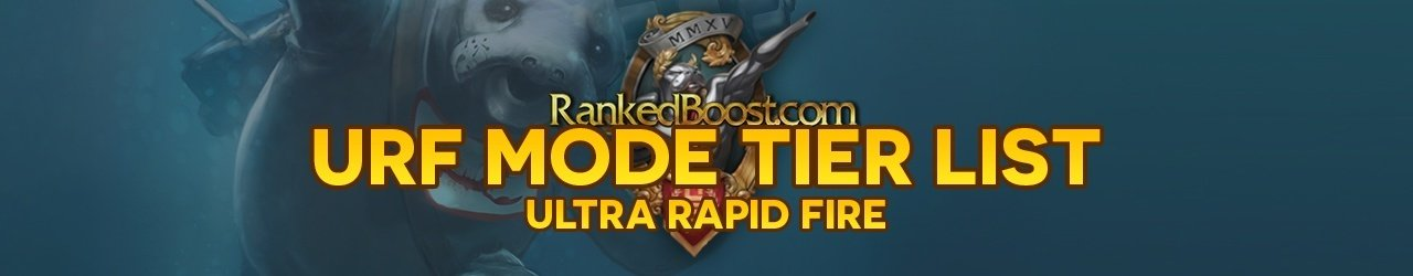 Ultra Rapid Fire Tier List • URF Tier List 2019 • Best Champion