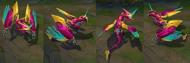 super galaxy Champion skin shyvana
