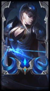 Ashe Loading Screen Championship Skin