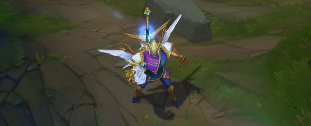 LOL S9 Victorious Skin