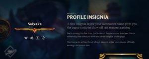 Profile Insignia