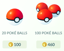PokeBall Pokemon Go