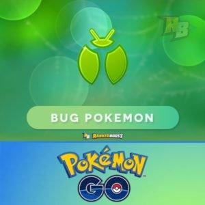 Pokemon Go Bug Type   Pokemon Go Bug Pokemon List