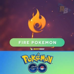 Pokemon Go Fire Type | Pokemon Go Fire Pokemon List