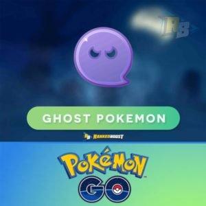 Pokemon Go Ghost Type   Pokemon Go Ghost Pokemon List