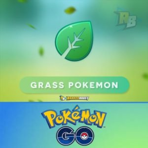 Pokemon Go Grass Type | Pokemon Go Grass Pokemon List