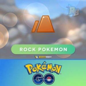 Pokemon GO Rock Type   Pokemon GO Rock Pokemon List