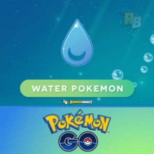 Pokemon Go Water Type | Pokemon Go Water Pokemon List