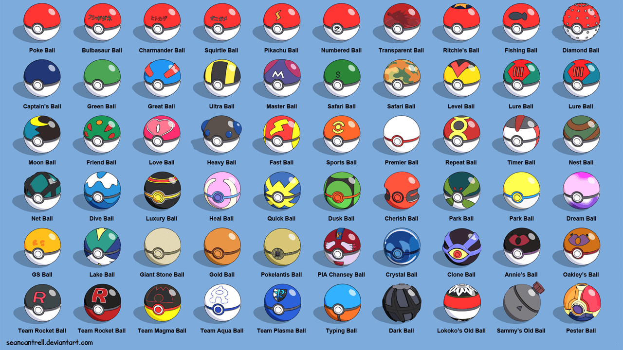 Pokemon-Go-PokeBalls