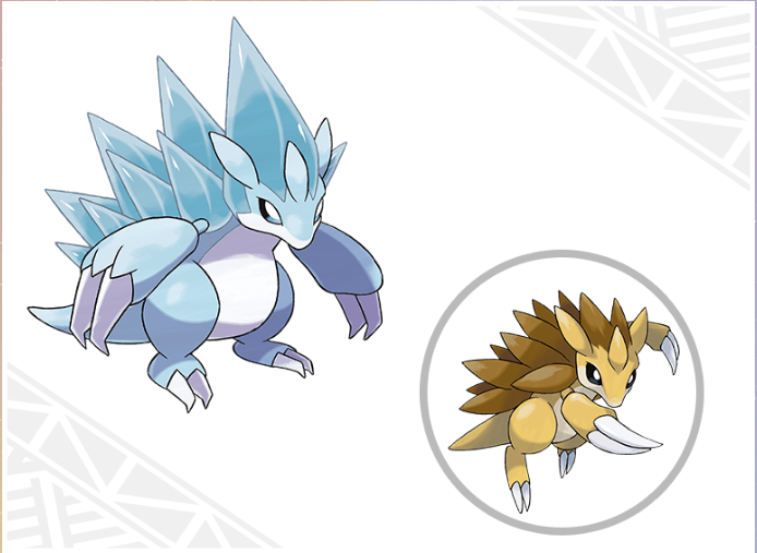 Alolan Sandslash Pokemon Sun & Moon