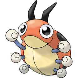 Pokemon Go Ledyba Max Cp Evolution Moves Spawn Locations