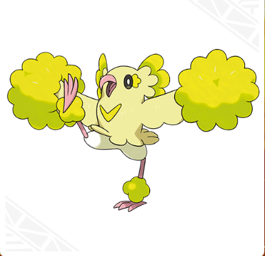 Oricorio (Pom-Pom Style) Pokemon Sun & Moon