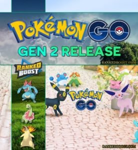 Pokemon Go Generation 2 Release