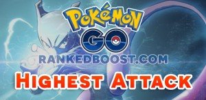 Pokemon GO Gym Tier List | Highest Attack Pokemon