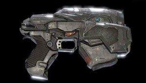GoW4 Snub Pistol Skin