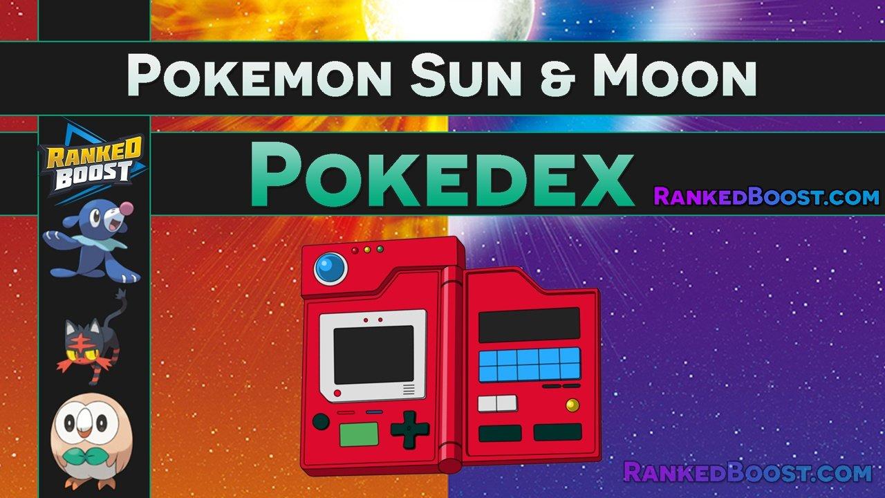 pokemon sun moon pokedex legendary alola form ultra beast