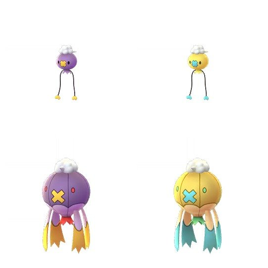 Shiny Drifloon Pokemon GO