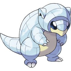Alolan Sandshrew Pokemon Lets GO