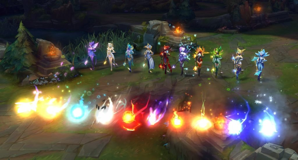 Elementalist Lux Skin League Of Legends New Ultimate Skin Lux