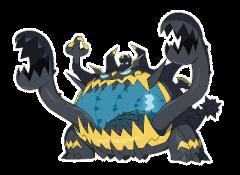 Guzzlord Pokemon Sun and Moon