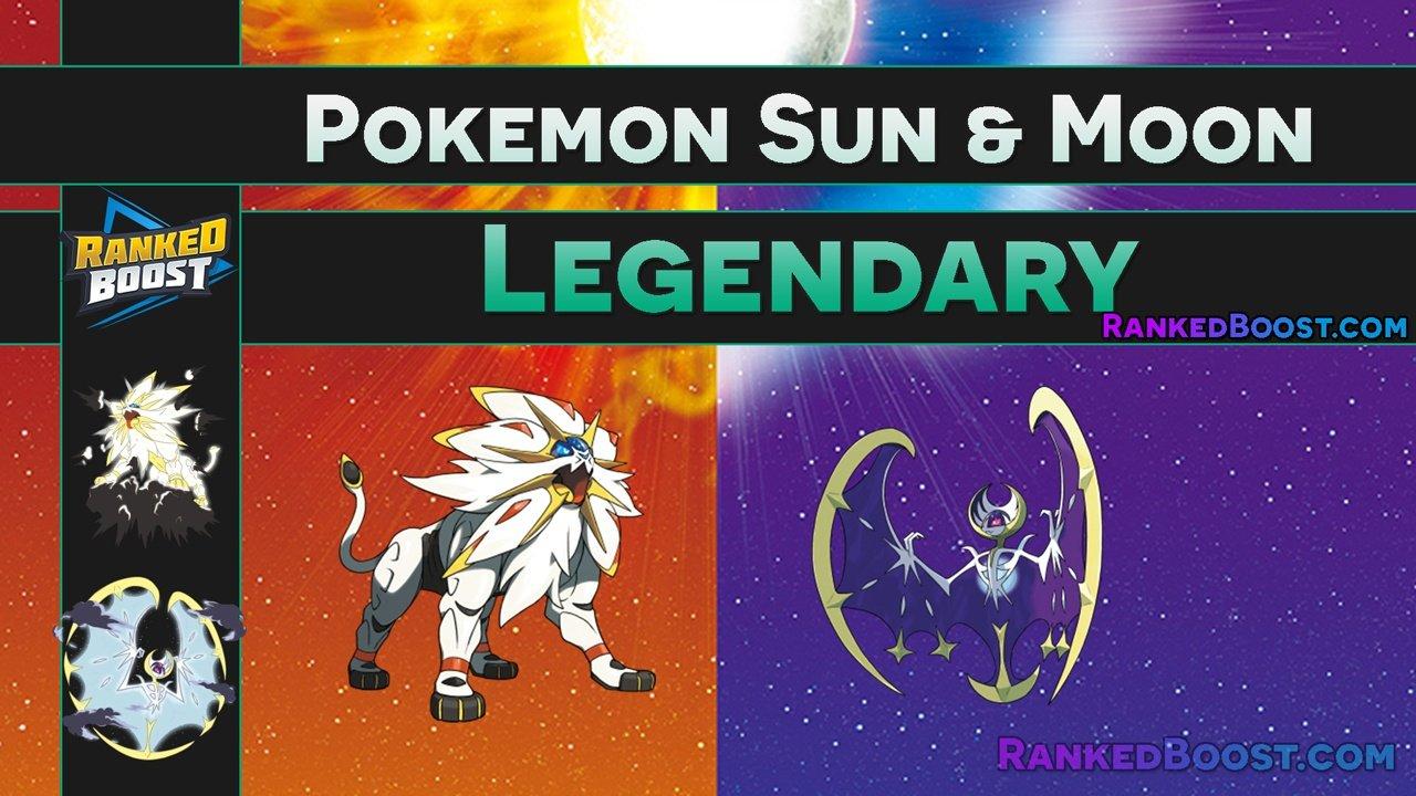 Pokemon Sun Moon Legendary Pokemon Evolution S Island Deities