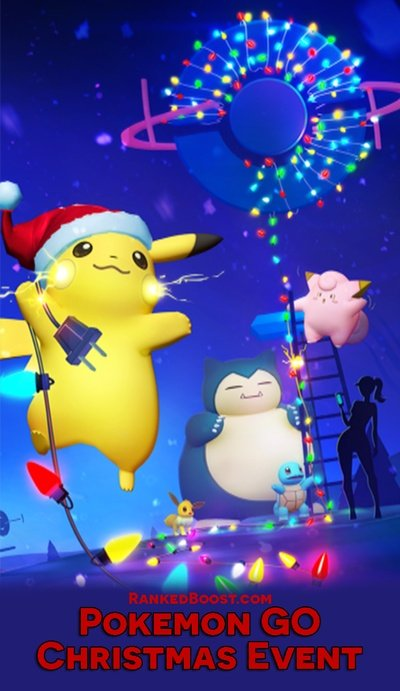 Pokemon Christmas.Pokemon Go Christmas Event Guide New Years Item Pack Gift