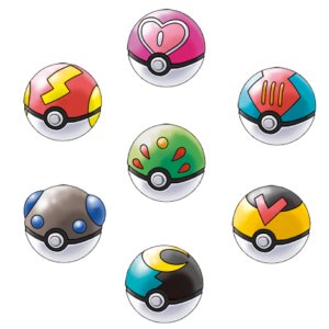Pokemon Sun and Moon Pokeballs