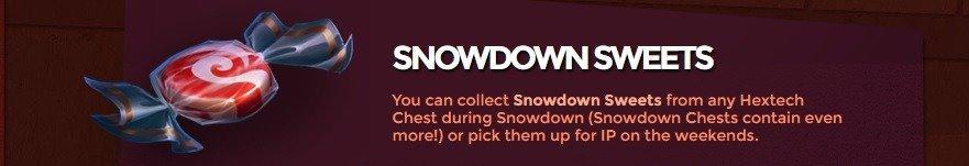 snowdown-sweets
