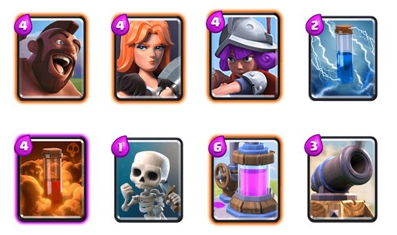 Best Arena Decks In Clash Royale