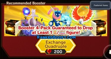 Booster Pokemon Duel