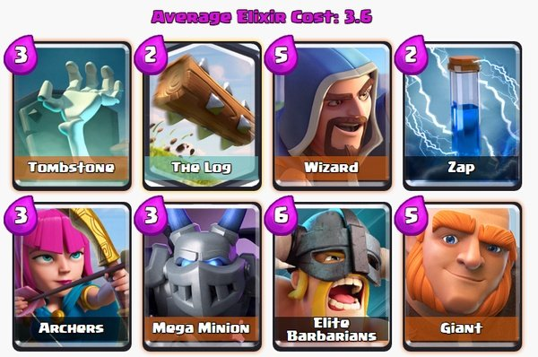 Clash Royale Best Legendary Decks