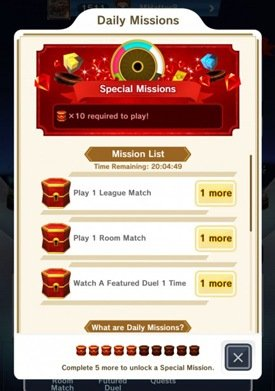 Daily Missions In Pokemon Duel