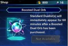 Duel Orbs in YuGiOh Duel Links