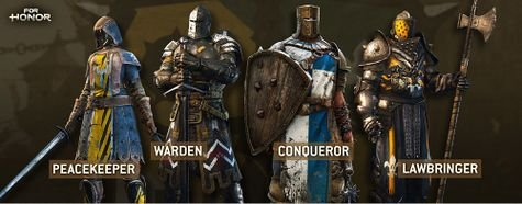 For Honor Knights Heroes