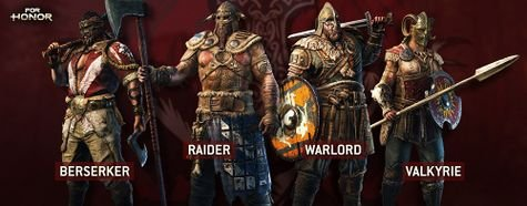 For Honor Viking Heroes