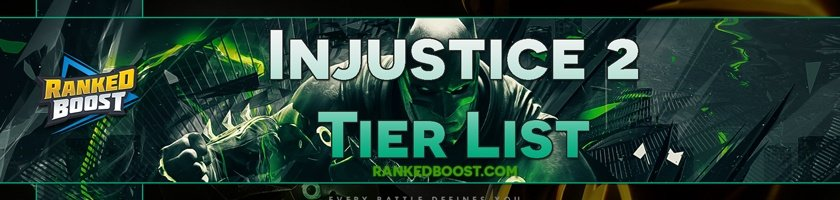 injustice 2 tier list 2017 best characters in injustice 2